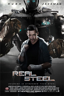 Put Your Fists Up! It's a New Poster for 'Real Steel'