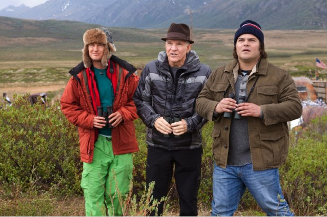 First look at Owen Wilson, Jack Black and Steve Martin in Bird Watching Comedy 'The Big Year'