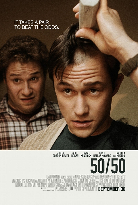 Movie Review: I'm 100% Certain that '50/50′ is One Emotional Rollercoaster worth Riding