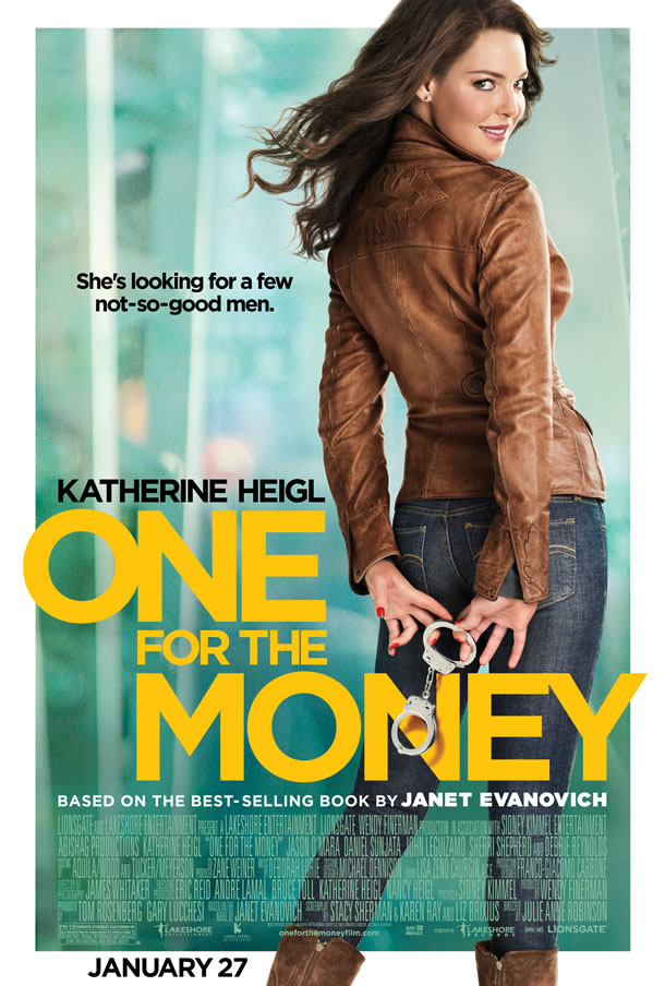New Poster & Trailer for 'One for the Money' Starring Katherine Heigl