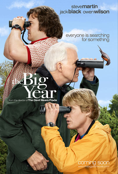 New Poster and Trailer for the Semi-Bird Watching Comedy, 'The Big Year'