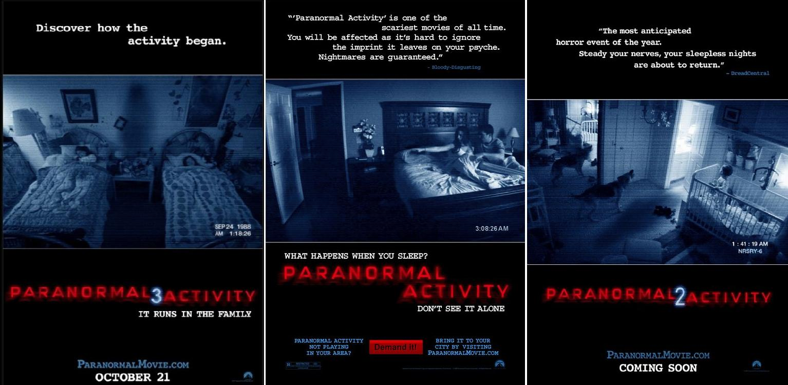 'Paranormal Activity 3′ Official Poster: Welcome Back Creepy Shadow Figure