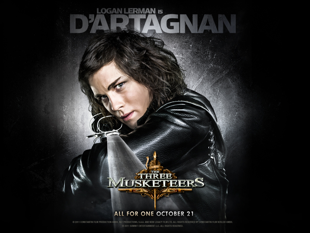 New Character Posters for 'The Three Musketeers' Gives the Spotlight to both the Heroes and the Villains