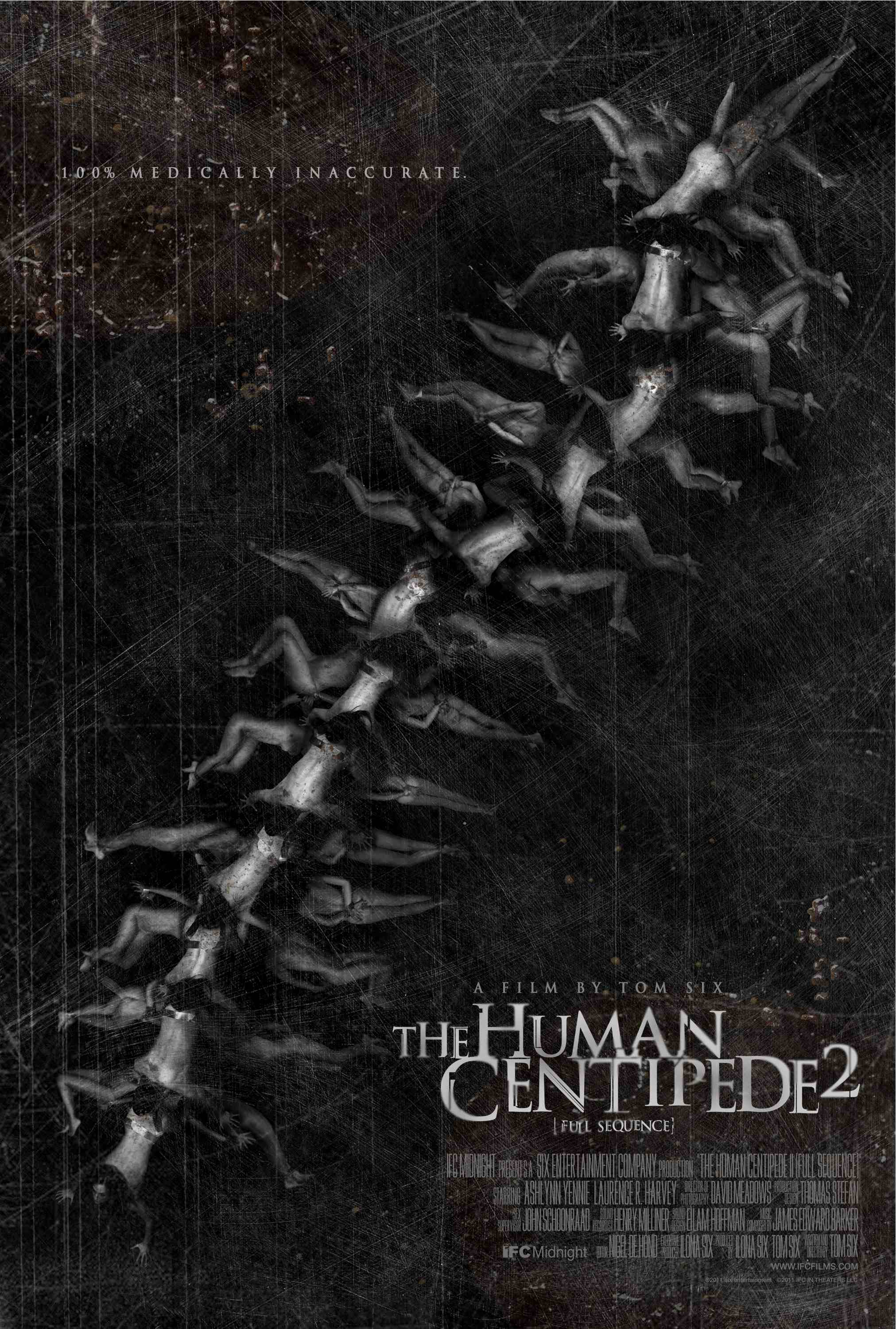 New Poster for 'The Human Centipede 2′ Gives You a Taste of its Twisted Horror