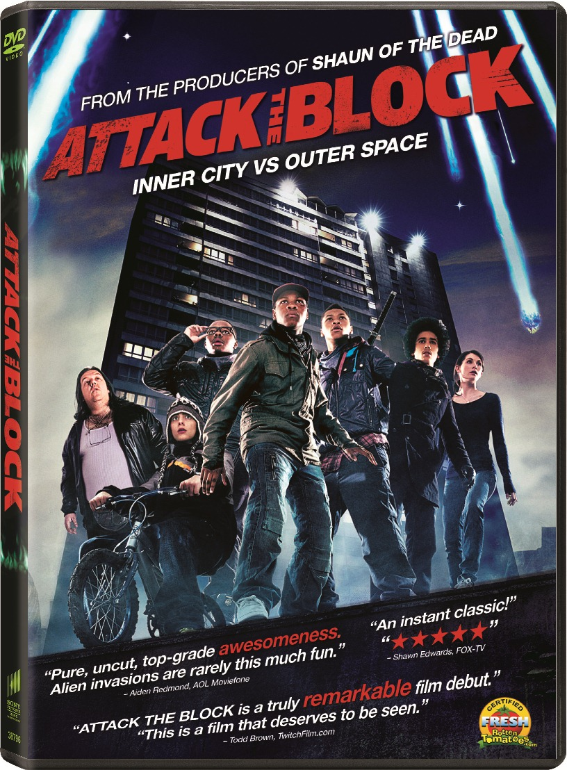 NYCC '11:  Interview with Joe Cornish, Director of Attack the Block