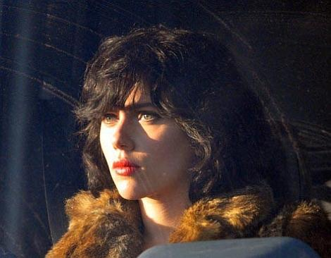 On-Set Images of Scarlett Johansson's 'Under the Skin' Alien Role