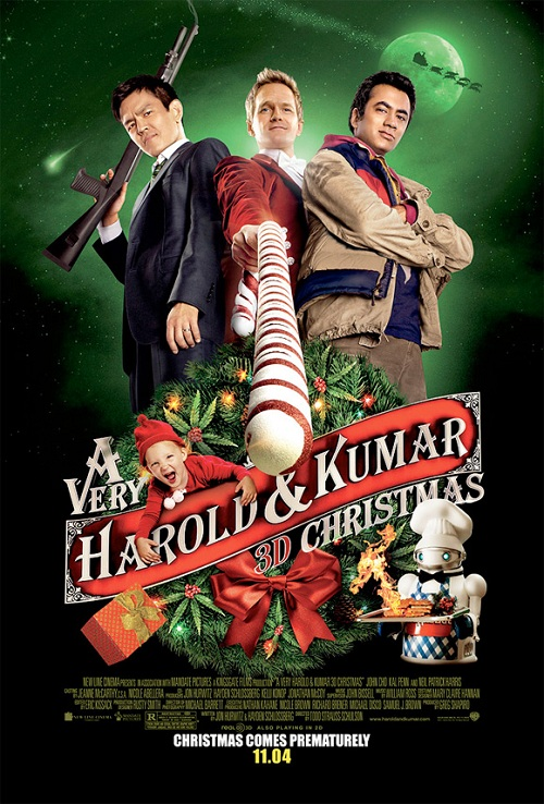 'A Very Harold & Kumar 3D Christmas' finally has a Red Band Trailer and it is AWESOME!