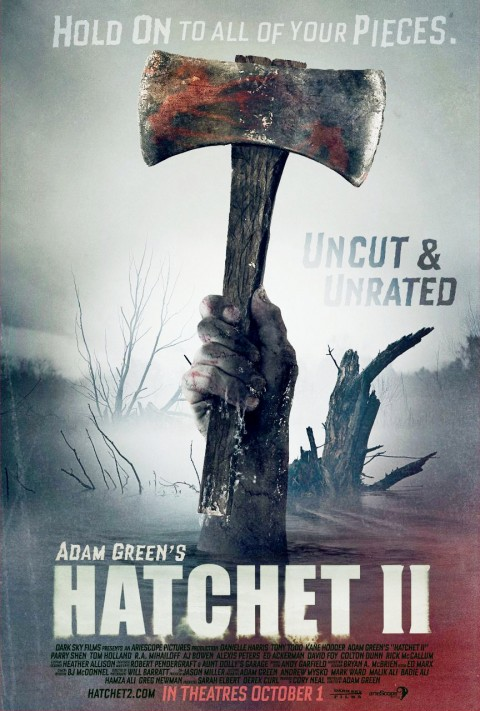 13 Days of Horror Review: After Watching 'Hatchet II' I Wanted 2 Hatchets…One in Each Eye