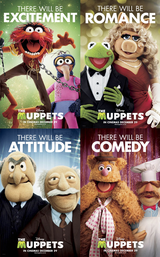 Another New 'The Muppets' Trailer & Poster, Plus Bonus Muppets Video!