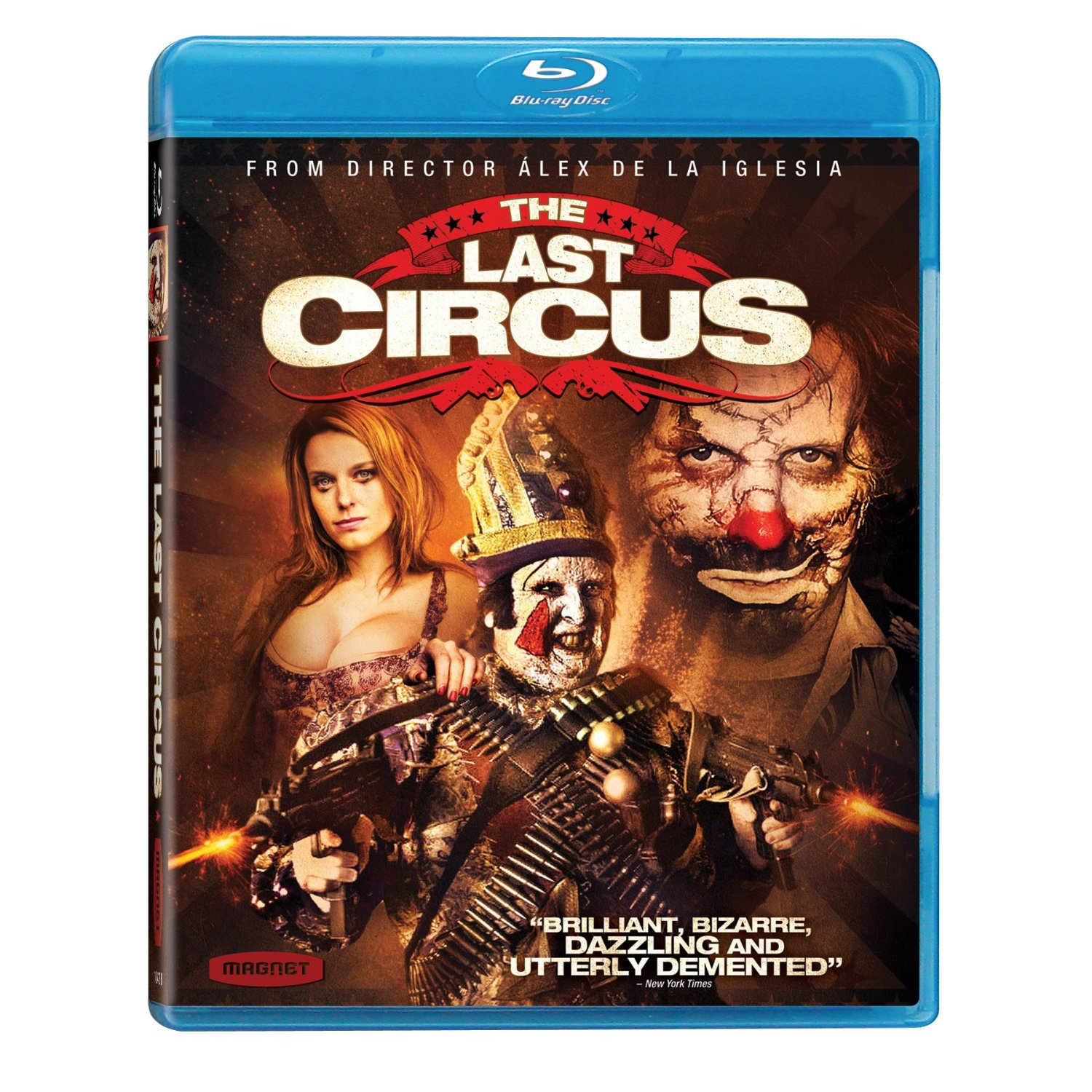 Blu-Ray Review: Álex de la Iglesia's Clowns go Insane in 'The Last Circus'