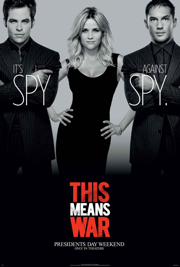'This Means War' Poster and Photos show Spy Vs. Spy