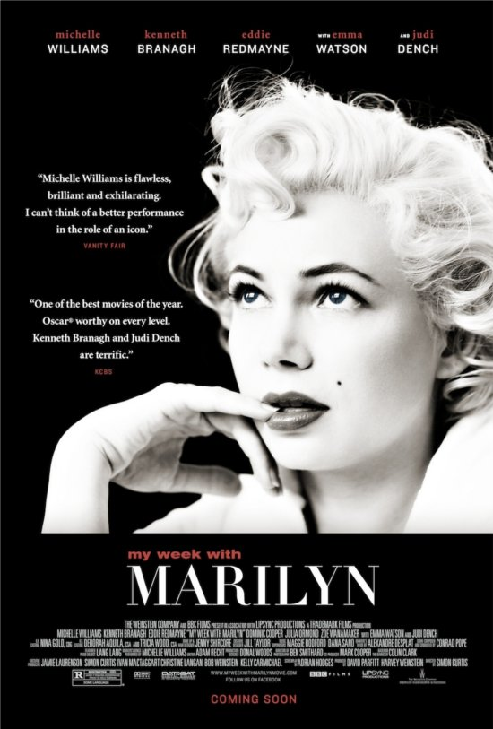 Movie Review: 'My Week with Marilyn' Is A Beautiful Portrait of Marilyn Monroe & Michelle Williams!