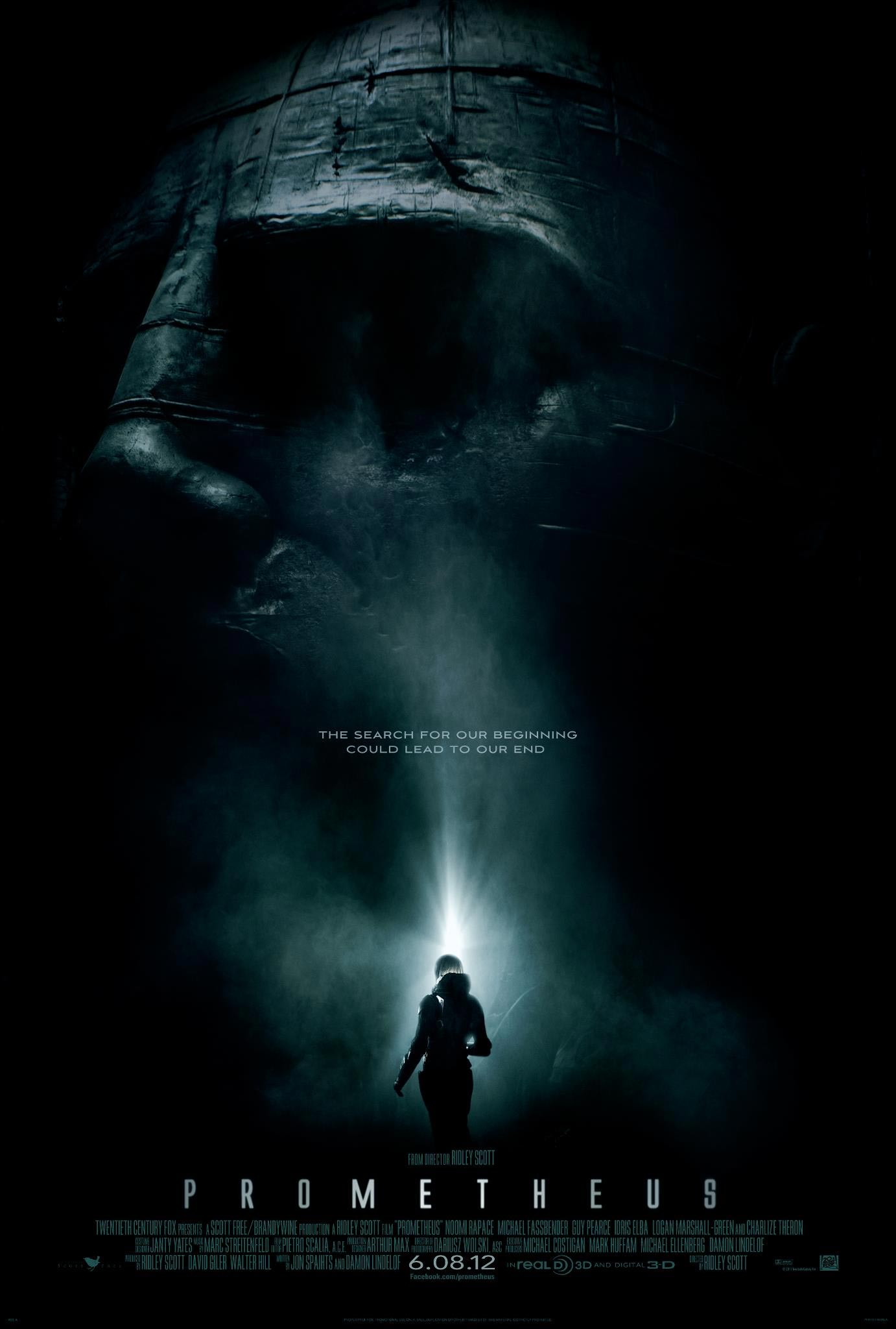 Movie Review: Prometheus-A Treat for the Eyes and Mind