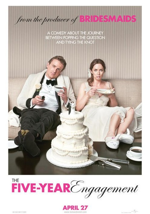 Trailer & Poster for 'The Five-Year Engagement,' Starring Jason Segel and Emily Blunt!
