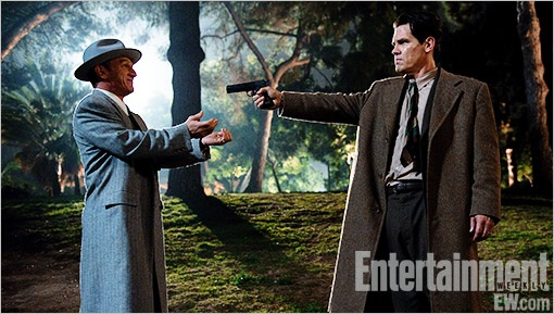 First Photo of Josh Brolin & Sean Penn in 'Gangster Squad'