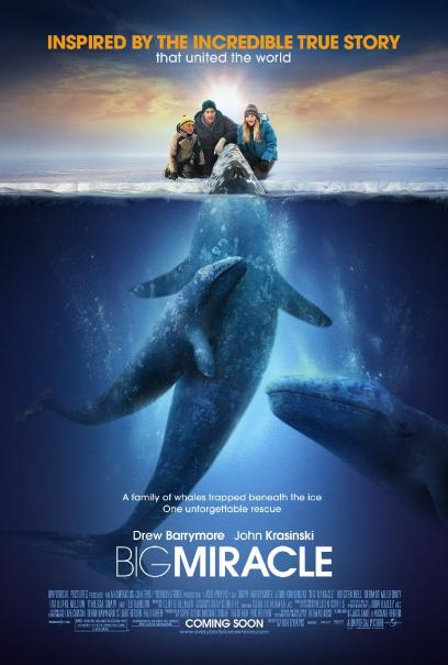 Movie Review: 'Big Miracle' Waters a Compelling True-Life Story Down with Drew Barrymore's Tears