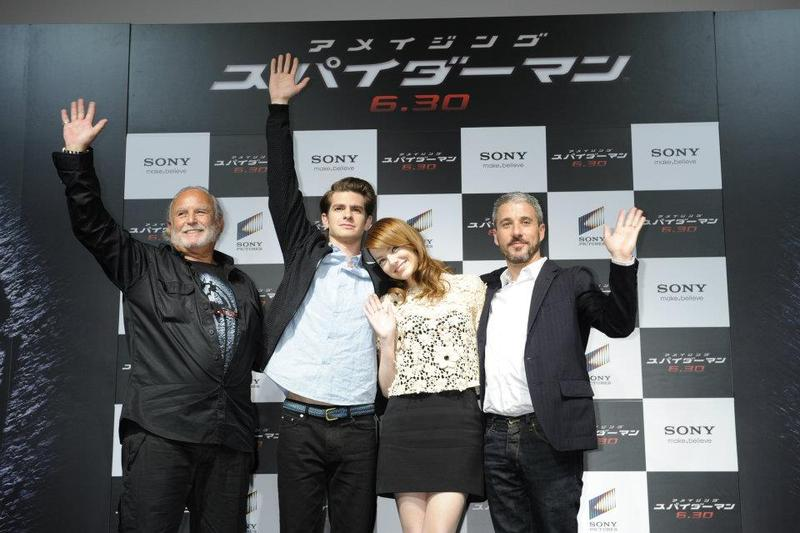 Got an Hour to give to 'The Amazing Spider-Man'? Then check out the Japanese Press Conference