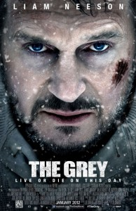 The Grey Movie Poster 194x300 Movie Review: The Grey is Liam Neesons Return to his Dramatic Roots