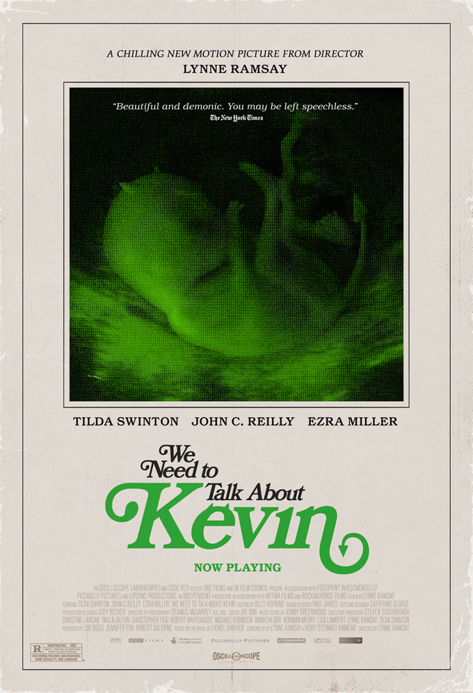 Creepy Demon Fetus Poster for 'We Need Need to Talk About Kevin'