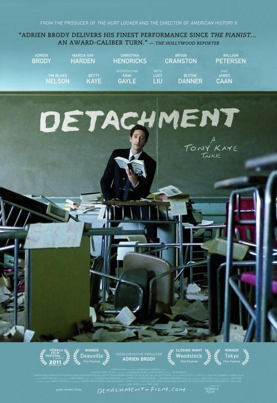 Movie Review: Detachment: The Pessimist's/Realist's Version of Dangerous Minds
