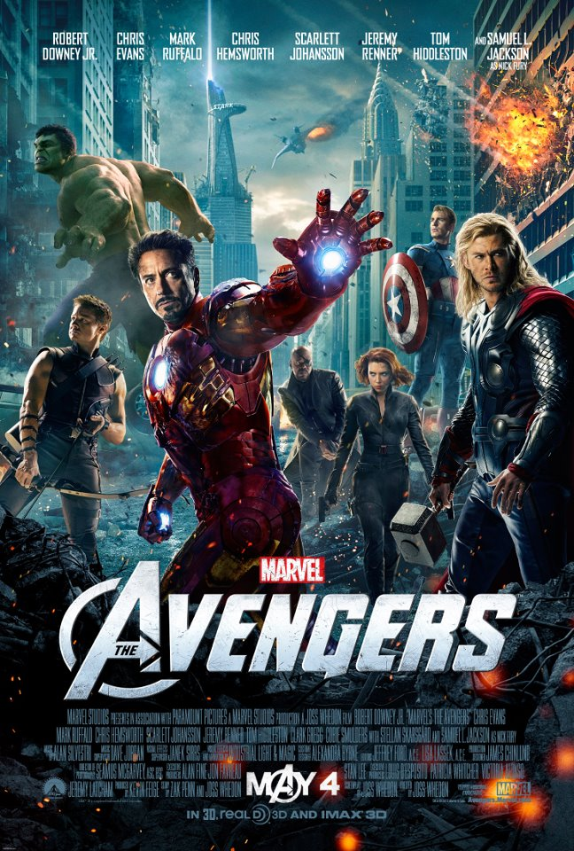 See All Six Avenger films in Order on May 3rd at select Cinemark Theaters