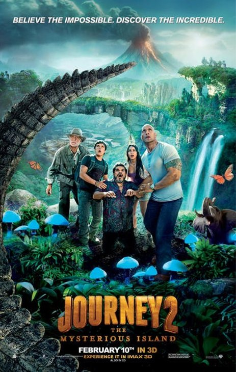 Movie Review: 'Journey 2: The Mysterious Island'