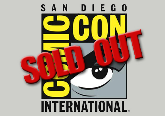San Diego Comic-Con 2012 is Officially SOLD OUT