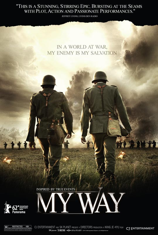 Epic US Trailer for Kang Je-Kyu's WWII Drama, 'My Way'