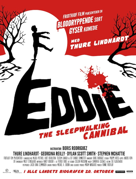 Tribeca Film Festival '12: Interview with Boris Rodriguez & Georgina Reilly of Eddie The Sleepwalking Cannibal