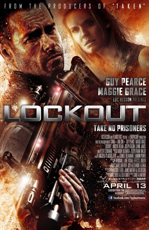 Movie Review: Lockout is more of a Comedy than a Sci-Fi Thriller