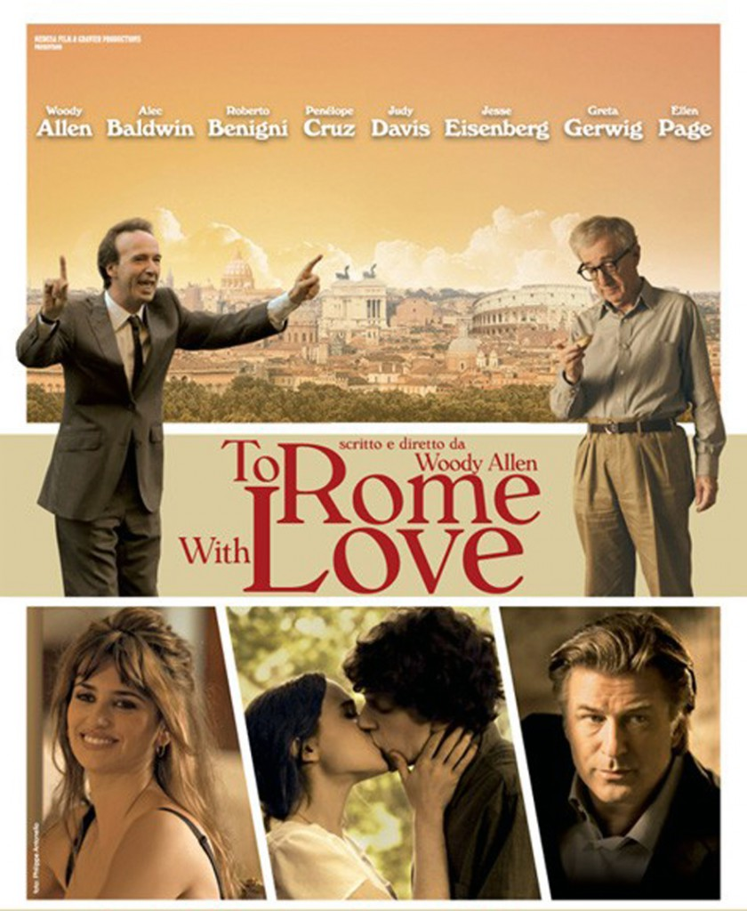 Trailer: 'To Rome With Love' Is Woody Allen's Latest European Rom-Com