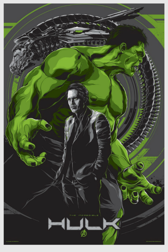 hulk mondo Four More of The Avengers Posters by Mondo have been Announced