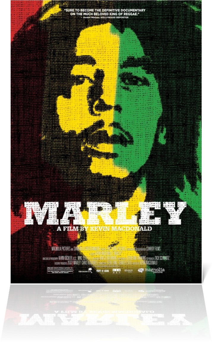 Awesome New 'One Love' Poster for Bob Marley Documentary, MARLEY