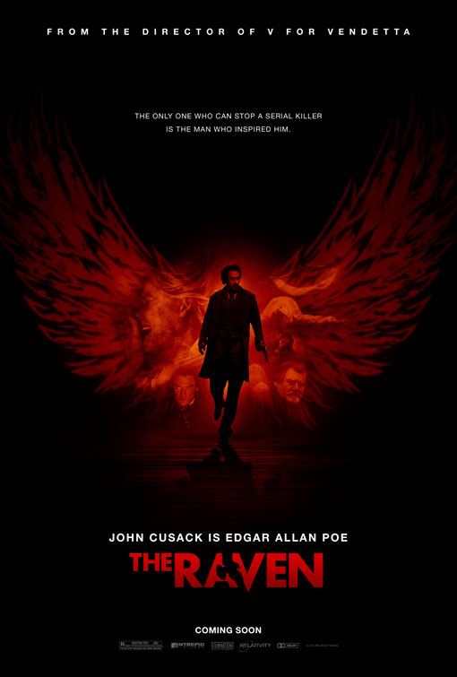 Movie Review: 'The Raven' Tortures Us by Plucking at Our Eyeballs