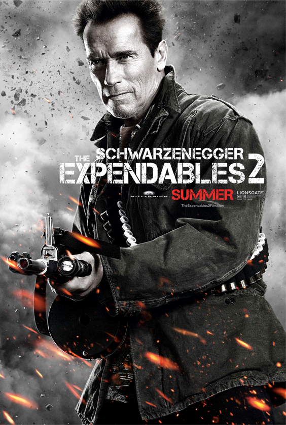 Lock and Load! The Expendables 2 Trailer Has Arrived