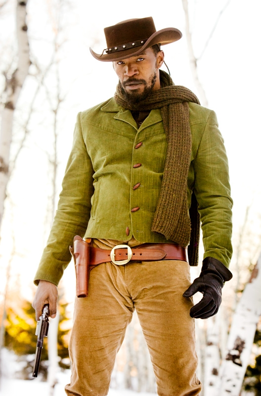 Jamie Foxx Shows Us how Unchained Django is in these new Stills from Django Unchained