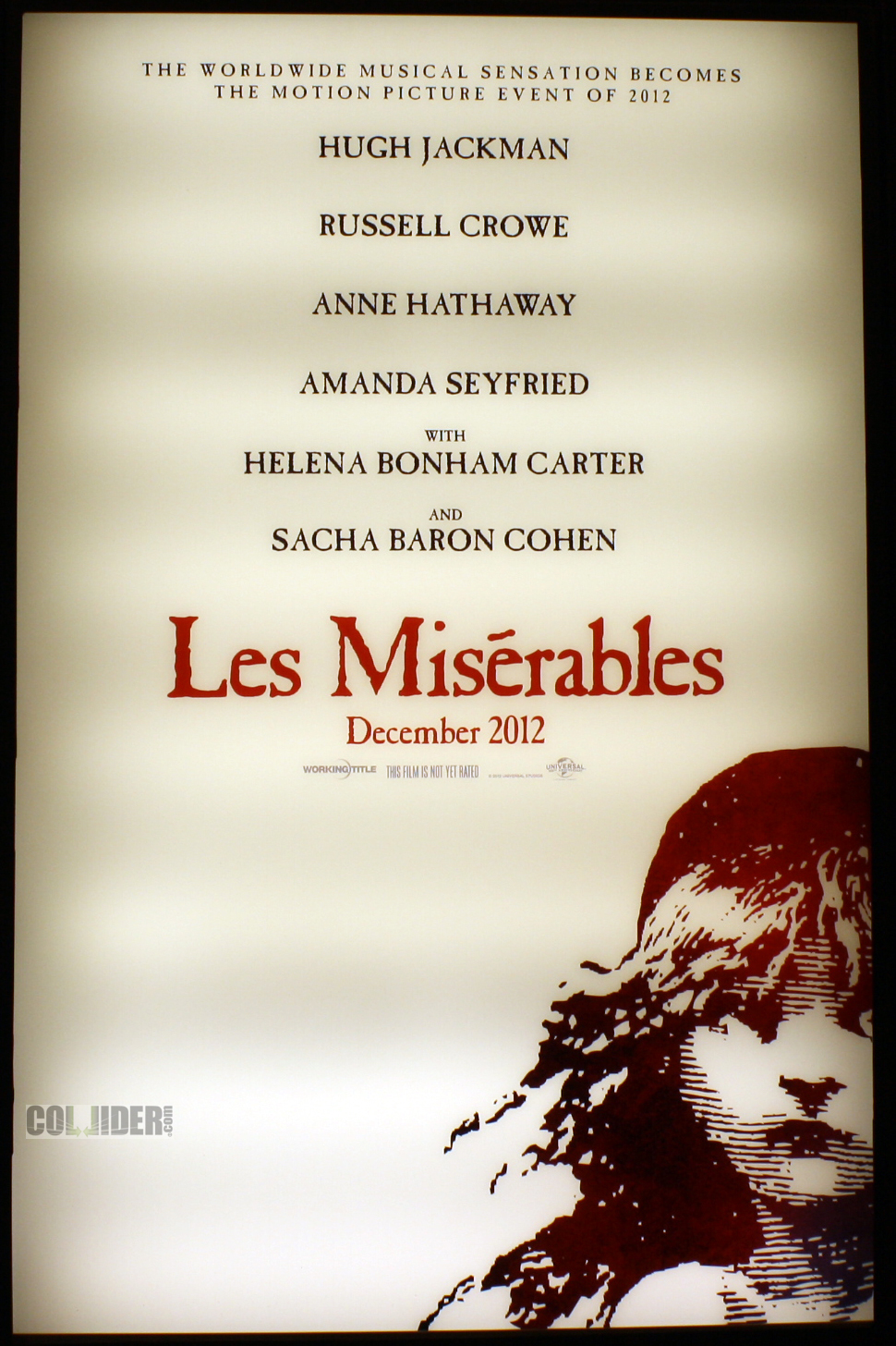 Hathaway Dreams a Dream: 'Les Miserables' First Trailer