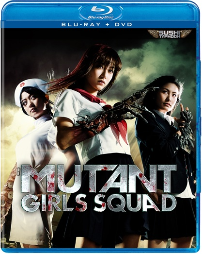 Blu-ray Review: 'Mutant Girls Squad' is Pure Splatter Madness