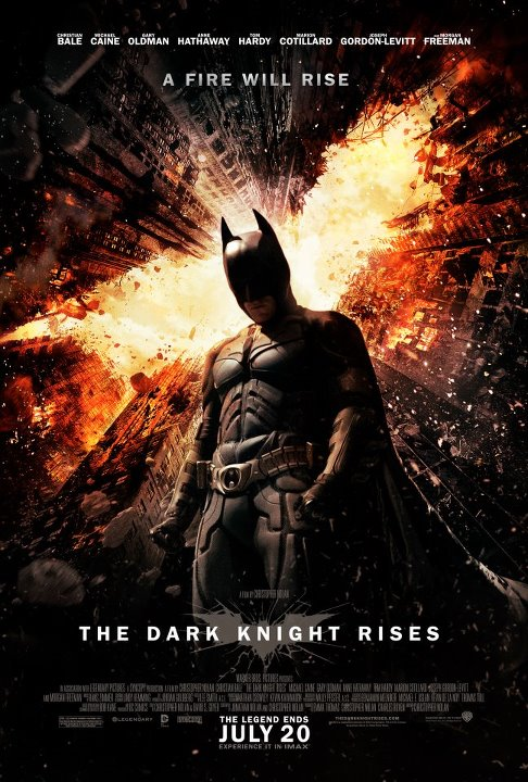 7 New 'The Dark Knight Rises' Posters Unleash the Elements