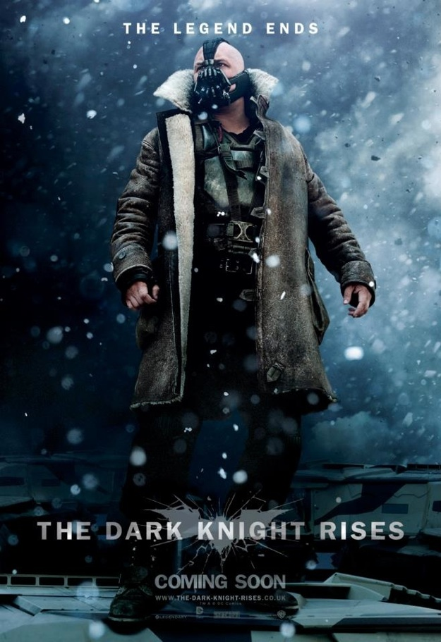 New Trailer for 'The Dark Knight Rises' Shows Us Some New Footage