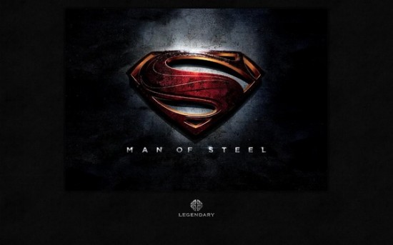Man of Steel Logo header 550x343 Man of Steel Costumes hit the Licensing Expo12 Floor