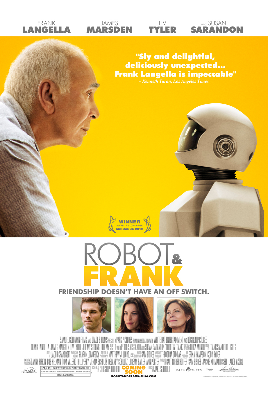 Official Poster For Sundance Favorite 'Robot and Frank'