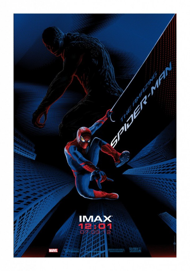 durieuxspidey blog 610x872 Get a Free The Amazing Spider Man IMAX/Mondo Poster at the Midnight Screenings Tonight!