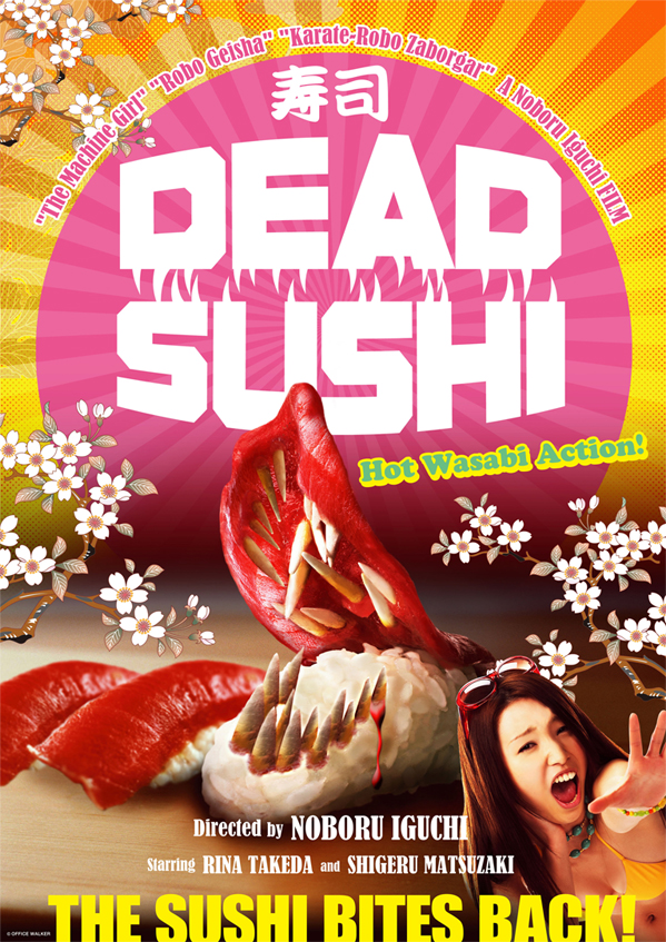 Fantasia 2012: 'Dead Sushi' Review – Full Fledged Sushi Pandemonium!