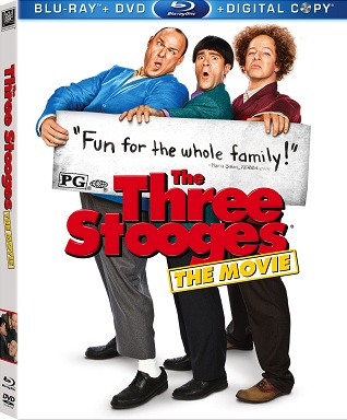 Blu-ray Review: 'The Three Stooges' Deserves a Poke in the Eyes