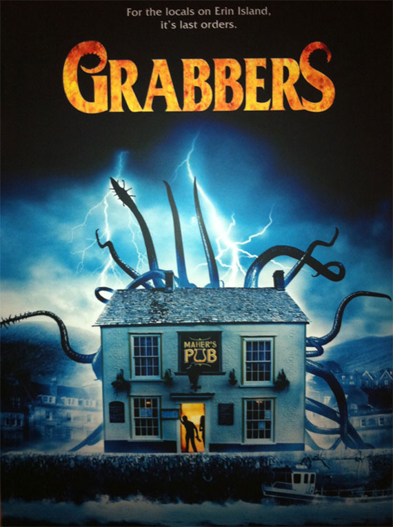 Fantasia 2012: 'Grabbers' Movie Review