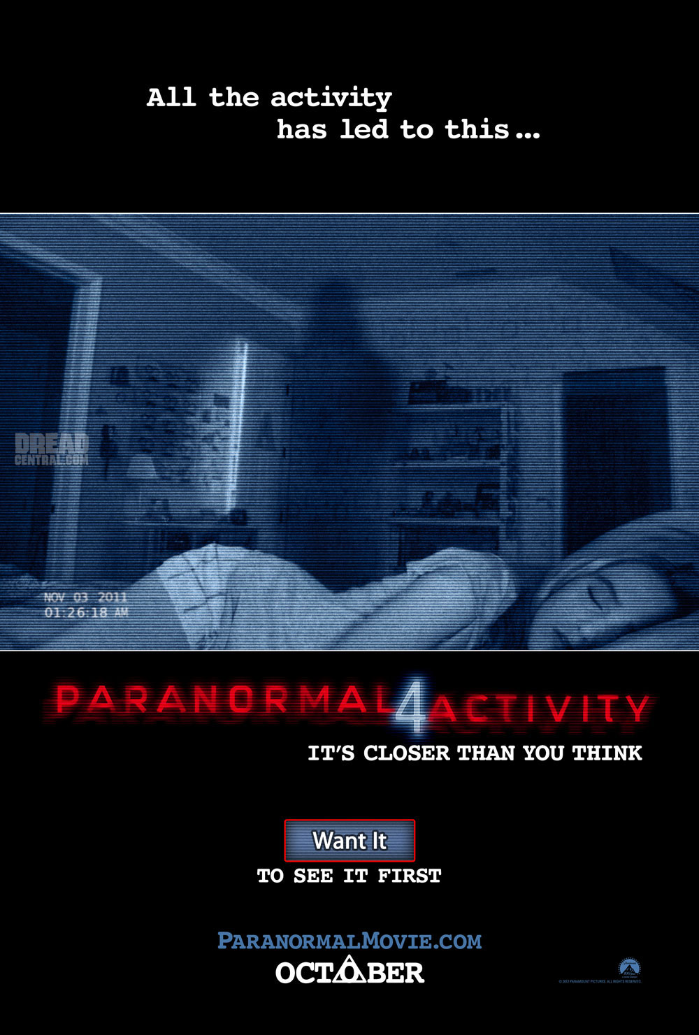 Paranormal Activity 4 Trailer: Will Questions Finally be Answered? Probably Not, But it's Still Creepy as Hell