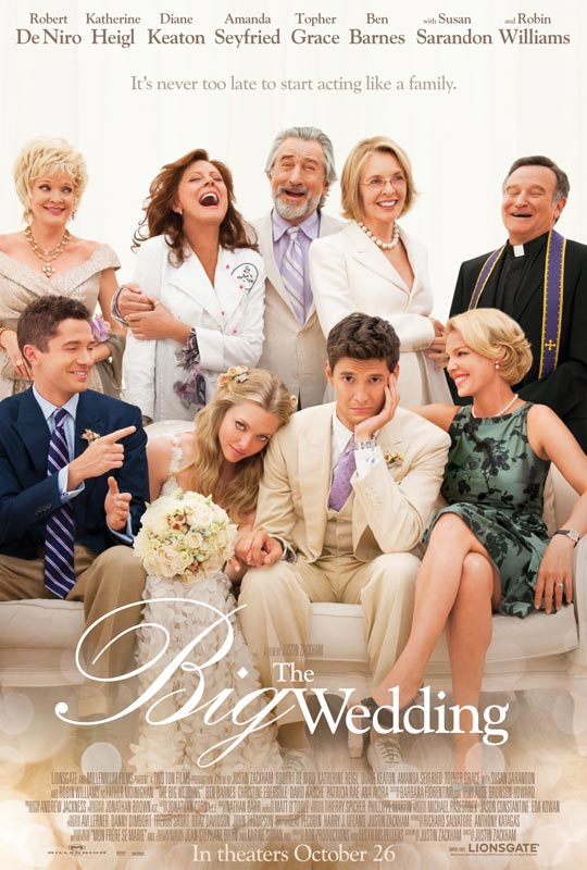 Trailer: 'The Big Wedding' Could Be The Next 'Big' Family Ensemble Comedy