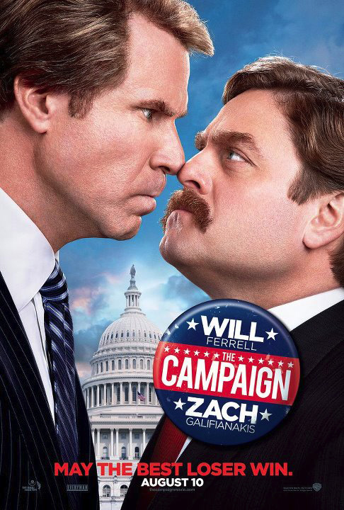 Movie Review: 'The Campaign' is Funny, But Not Funny Enough to Get My Vote