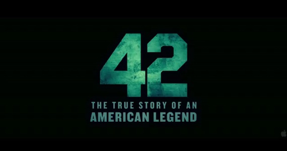 Trailer for '42′ The Jackie Robinson Biopic